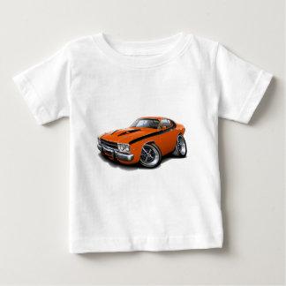 1973-74 Roadrunner Orange-Black Car Baby T-Shirt
