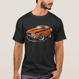 1973-74 Roadrunner Orange-Black Car T-Shirt