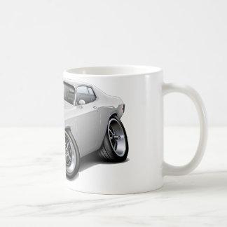 1973-74 Roadrunner White Car Coffee Mug