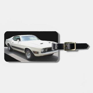 1973 Mustang Mach I - LuggageTag Luggage Tag