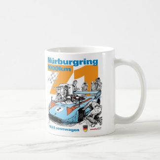 1973 Nurburgring 1000 km Porsche 908-3 Coffee Mug
