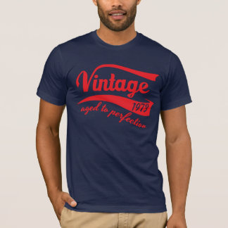 1973 vintage aged to perfection 40th birthday gift T-Shirt