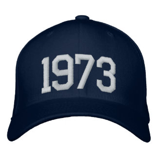 1973 Year Baseball Cap