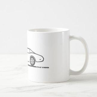 1974 1975 1976 1978 Chevrolet Corvette Hard Top T Coffee Mug