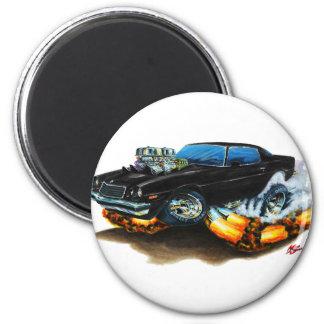 1974-78 Camaro Black Car 6 Cm Round Magnet
