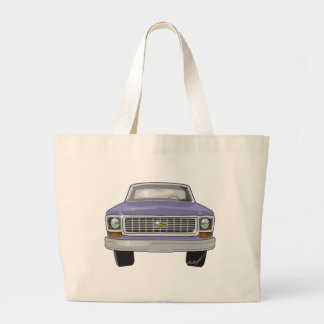 1974 Chevy Truck Large Tote Bag