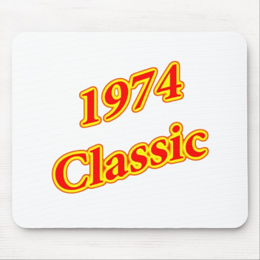 1974 Classic Red Mousepads