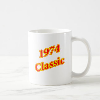 1974 Classic Red Mugs