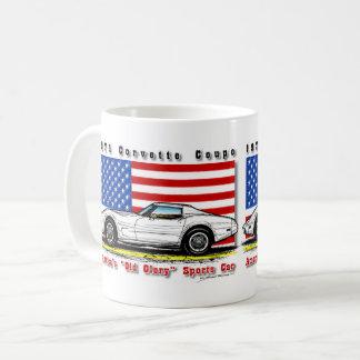 1974 Corvette Coupe Coffee Mug