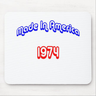1974 Made In America Mouse Pad