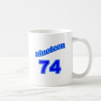 1974 Nineteen 74 Mugs