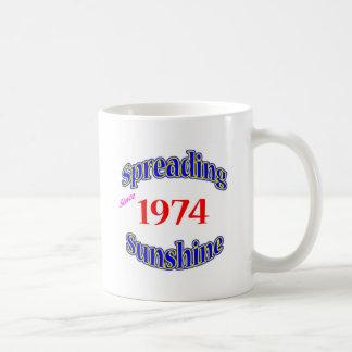1974 Spreading Sunshine Coffee Mug