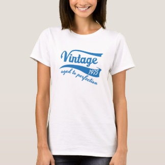 1975 Vintage Aged to Perfection 40th birthday gift T-Shirt
