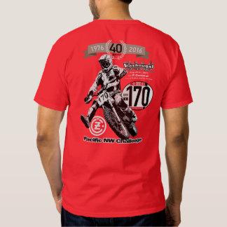 1976-2016 Pacific NW Challenge DIY Vintage Moto T Shirts