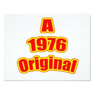 1976 Original Red Card