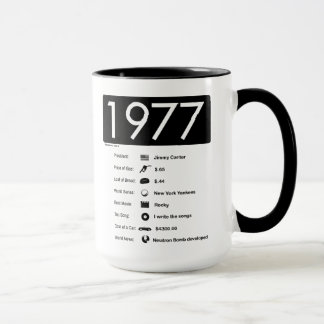 1977-Great Year T-Shirt Mug