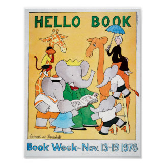 1978 Children's Book Week Poster