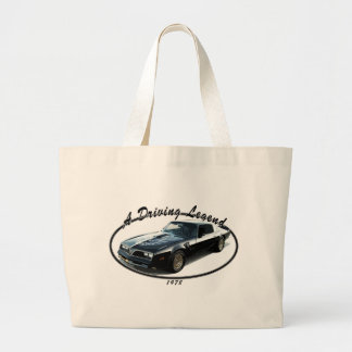 1978_firebird_black01 large tote bag