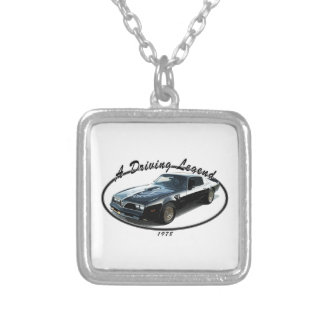 1978_firebird_black01 silver plated necklace