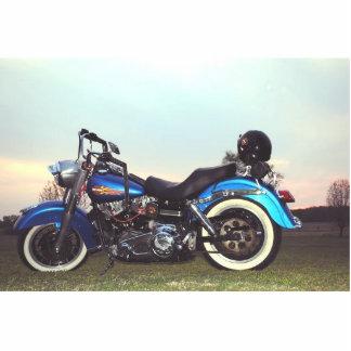 1978 Harley Davidson FLH Standing Photo Sculpture