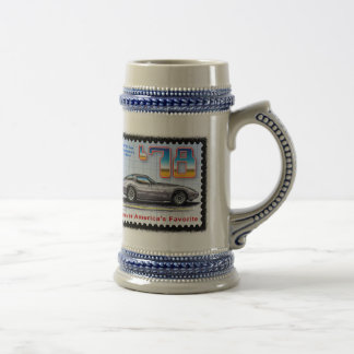 1978 Silver Anniversary Special Edition Corvette Beer Stein