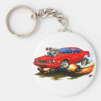 1979-81 Camaro Red Car Key Ring