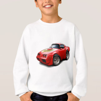 1979-81 Trans Am Red Car Sweatshirt