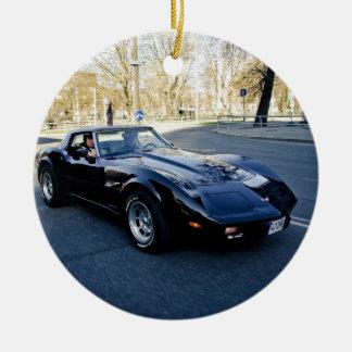 1979 Corvette Classic Sportscar Ceramic Ornament