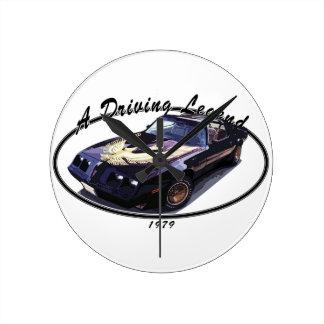 1979_firebird_black01 round clock