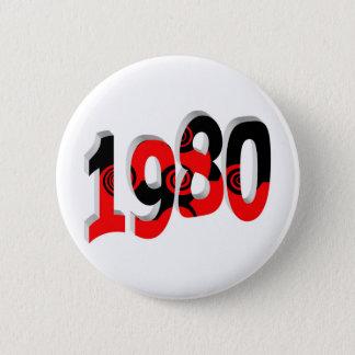 1980 6 CM ROUND BADGE
