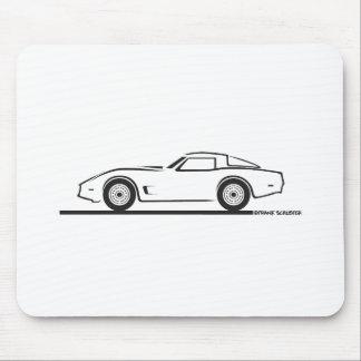1980-82 Chevrolet Corvette Mouse Pad