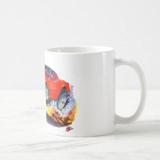 1980-82 Corvette Red Car Coffee Mug