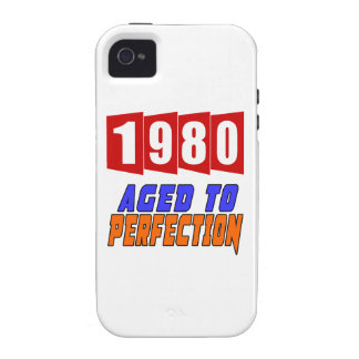 1980 Aged To Perfection iPhone 4/4S Cover
