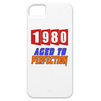 1980 Aged To Perfection iPhone 5 Cover