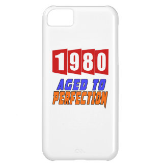 1980 Aged To Perfection iPhone 5C Case