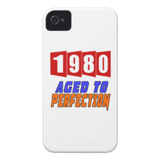 1980 Aged To Perfection iPhone 4 Cases