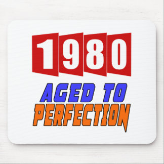 1980 Aged To Perfection Mouse Pad