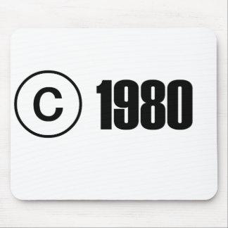 1980 Copyright Mouse Mats