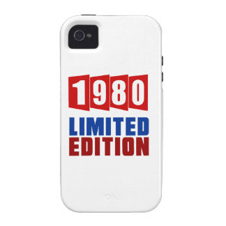 1980 Limited Edition Vibe iPhone 4 Covers