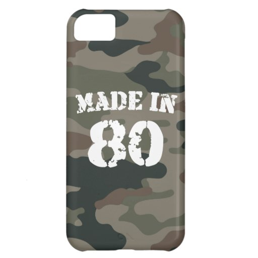 1980 Made in 80 iPhone 5C Cover