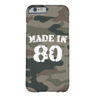 1980 Made in 80 iPhone 6/6s Barely There iPhone 6 Case