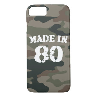 1980 Made in 80 iPhone 7 Case
