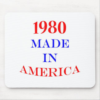 1980 Made in America Mouse Pad