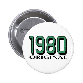 1980 Original 6 Cm Round Badge