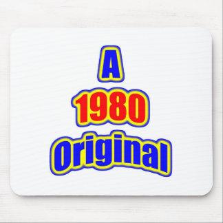 1980 Original Blue Red Mouse Pad