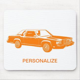 1980 s American cars Mousepad