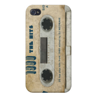 1980 The Hits - Vintage cassette iphone 4/4s skin Cases For iPhone 4