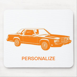 1980's American cars Mouse Pad