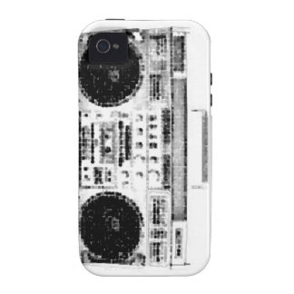 1980s Boombox Vibe iPhone 4 Covers