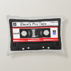 1980s Cassette Mix Tape Pillow